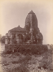 Mirabai Temple in Chittore Fort. [Incorrectly captioned for: Kumbha Shyama Temple.]